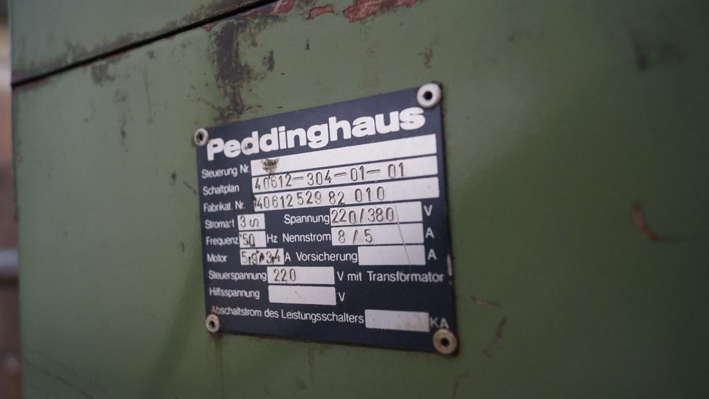 Profilstahlschere Peddinghaus Peddy E / BHV GmbH Versteigerungen