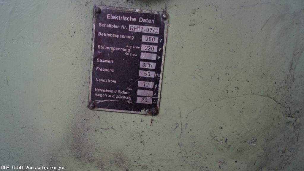 Hämmermaschine Alkett RH 12 / BHV GmbH Versteigerungen